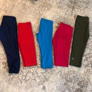 5 pair workout pants